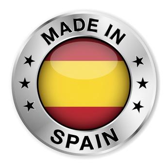 Sello que garantiza que todo el proceso de fabricación se ha realizado en España