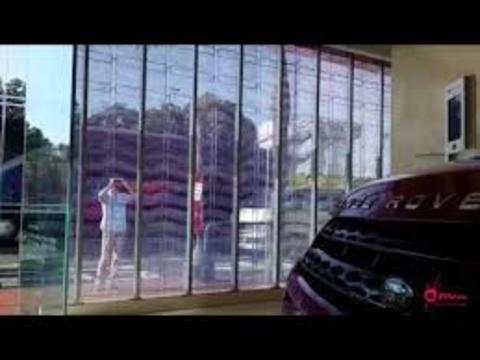 Grupo Empresarial PLAZALED - PANTALLA LED ELECTRÓNICA® TRANSPARENTE - PLAZALED rótulos led electrónicos, pantallas led electrónicas