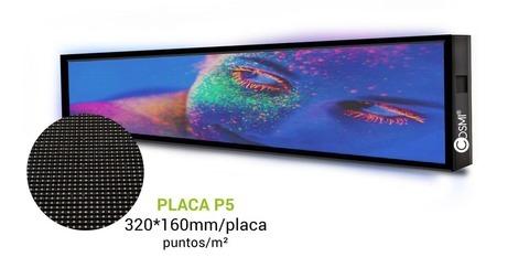 Grupo Empresarial PLAZALED - RÓTULO LED ELECTRÓNICO® FACHADA P5 EXTERIOR - PLAZALED rótulos led electrónicos, pantallas led electrónicas