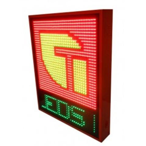 Grupo Empresarial PLAZALED - ROTULO LED ELECTRÓNICO® ESTANCO MODELO HABANA - PLAZALED rótulos led electrónicos, pantallas led electrónicas