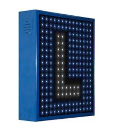 Grupo Empresarial PLAZALED - ROTULO LED ELECTRONICO® AUTOESCUELA PREGRABADOS - PLAZALED rótulos led electrónicos, pantallas led electrónicas